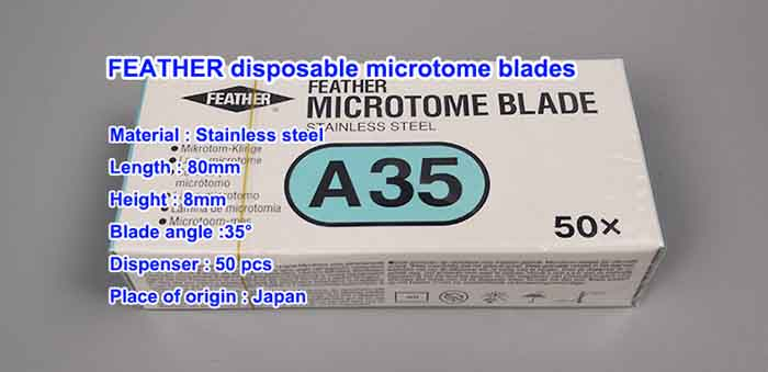 Feature A35 Microtome Blade