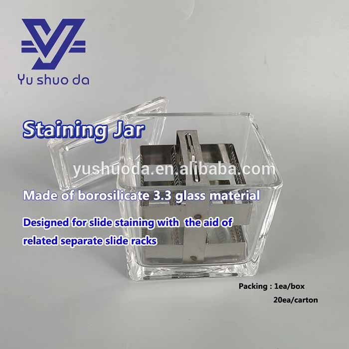 Laboratory Histology Pathology Consumable 30pcs Slide Staining Jar