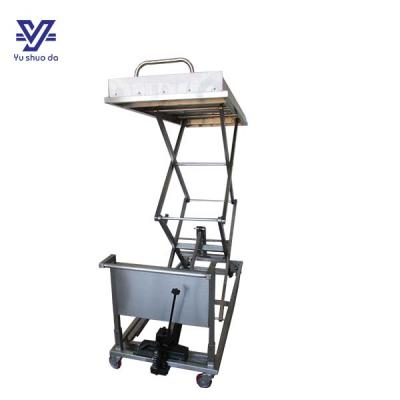 mortuary table hydraulic