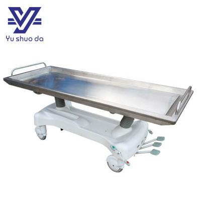 hydraulic mortuary lift stretcher